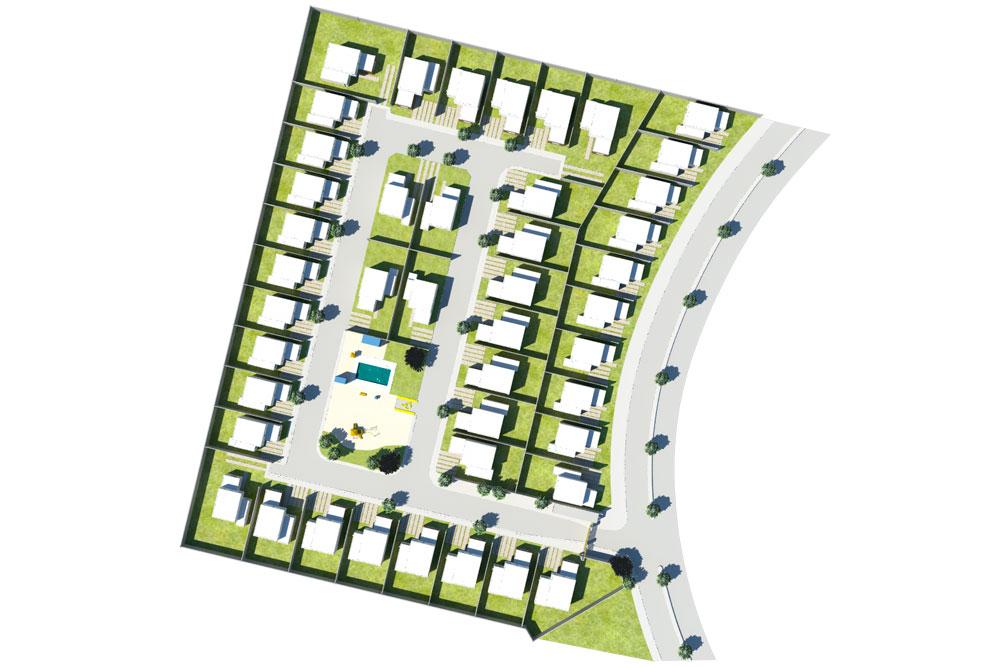 Master Plan Mirador del Valle Barrio Los Robles
