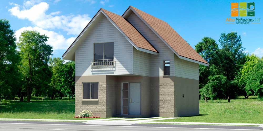 Casa Cedro 77 m²