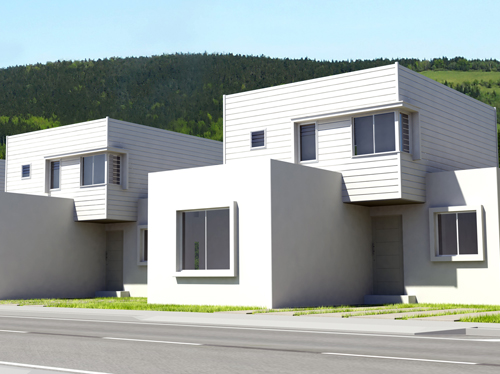 JUN 2013 – Inauguración casas pilotos Los Almendros II